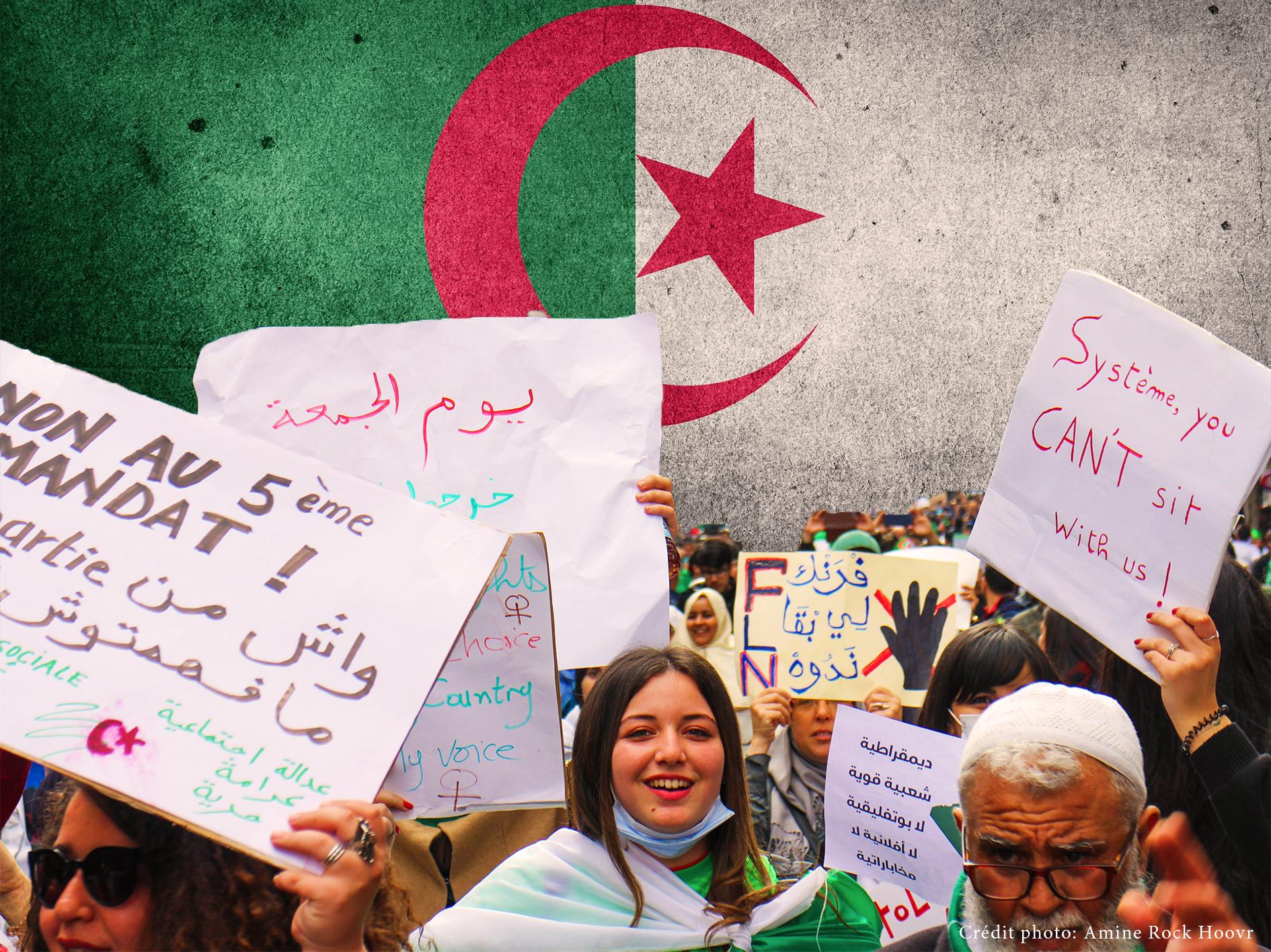 La mobilisation en Algérie